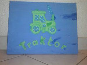Bild für Kinderzimmer Traktor Foto Blog