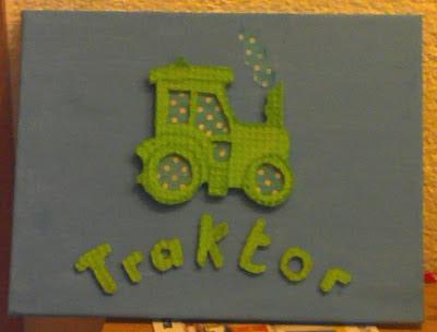 Bild für Kinderzimmer Traktor Foto Blog1