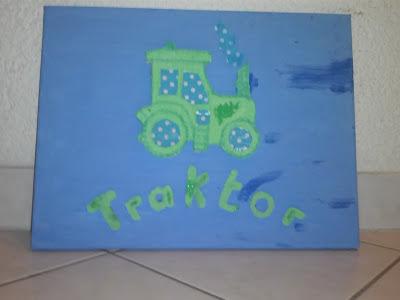 Bild für Kinderzimmer Traktor Foto Blog10