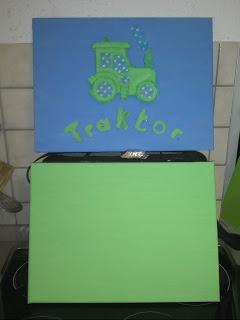 Bild für Kinderzimmer Traktor Foto Blog11