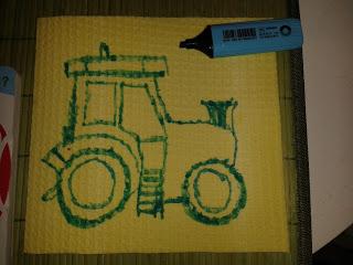 Bild für Kinderzimmer Traktor Foto Blog3