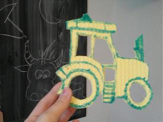 Bild für Kinderzimmer Traktor Foto Blog4