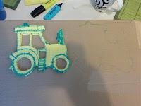 Bild für Kinderzimmer Traktor Foto Blog6