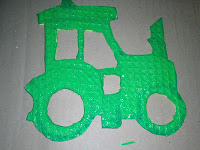 Bild für Kinderzimmer Traktor Foto Blog8