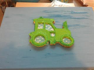 Bild für Kinderzimmer Traktor Foto Blog9