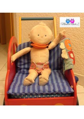 Puppenwindel Windel-Puppe Blog Foto