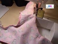 Puppenwindel Windelzuschnitt zick zack nähen Blog Foto