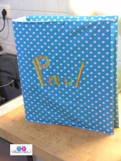 Ordnerhülle Umschlag leicht gemacht Foto Blog10