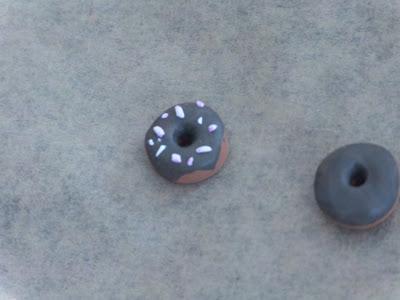 Fimo Anleitung Ohrringe und Anhänger Donut Blog Foto14
