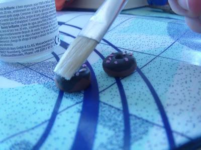 Fimo Anleitung Ohrringe und Anhänger Donut Blog Foto18