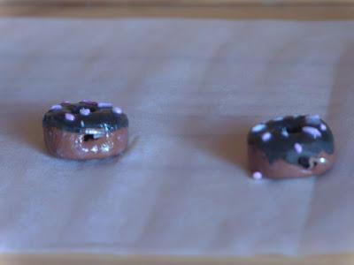 Fimo Anleitung Ohrringe und Anhänger Donut Blog Foto19