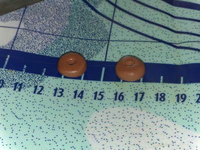 Fimo Anleitung Ohrringe und Anhänger Donut Blog Foto8