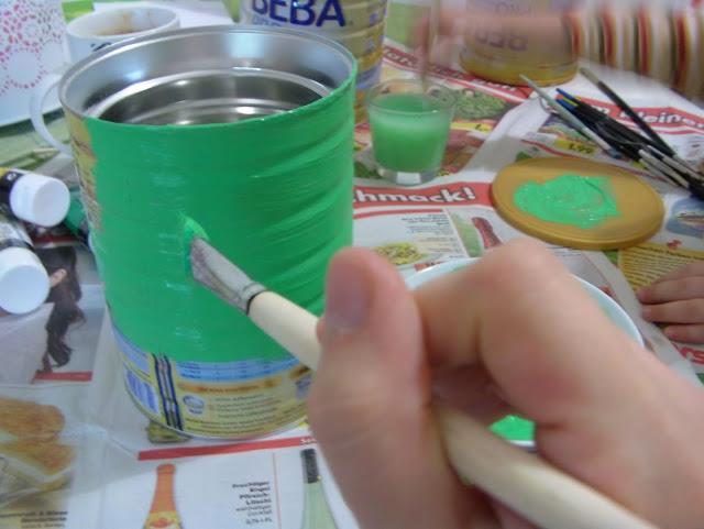 Post Dosenmacher Dekotipp Dosen recyceln DIY Küchendeko Blog Foto1