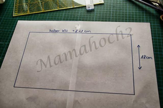 Herbstoutfit #3 Nähanleitung Halssocke ⋆ Mamahoch2