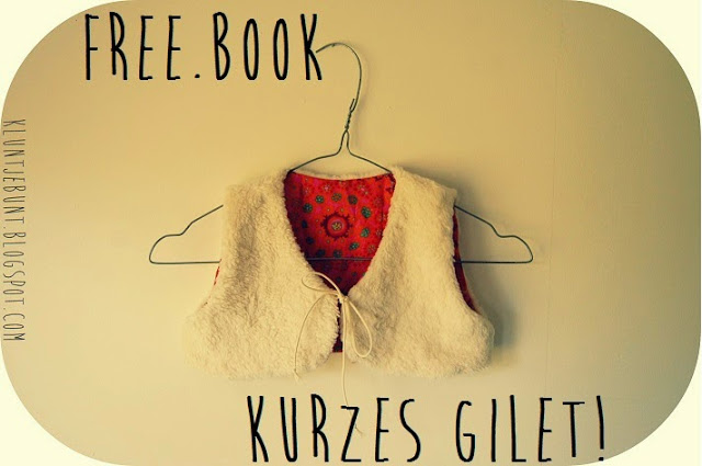 Blog Foto Kluntjebunt Freebook kurzes Gilet Freebooktratsch