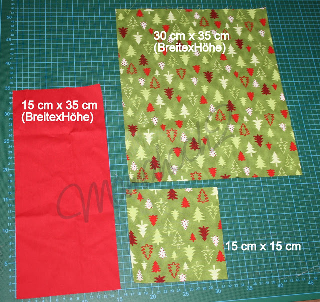 Weihnachtsspecial #3 - Platzdeckchen mit Besteckfächer ⋆ Mamahoch2