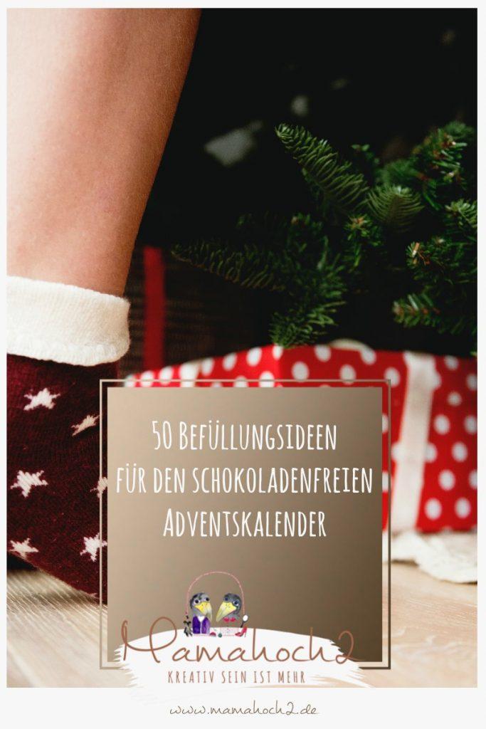 befüllung adventskalender unter 3 euro adventskalender selbermachen diy weihnachten