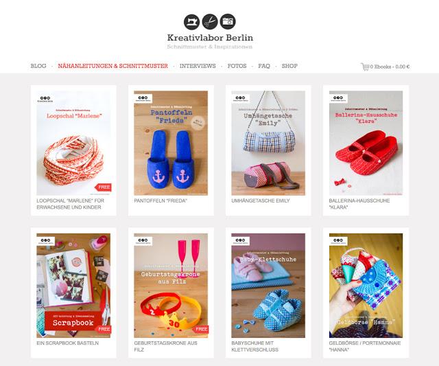 Blog Post Freebooktratsch mit Kreativlabor Berlin und 3 süße Lätzchen