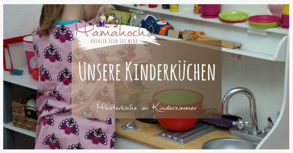 Kinderküchen im Kinderzimmer