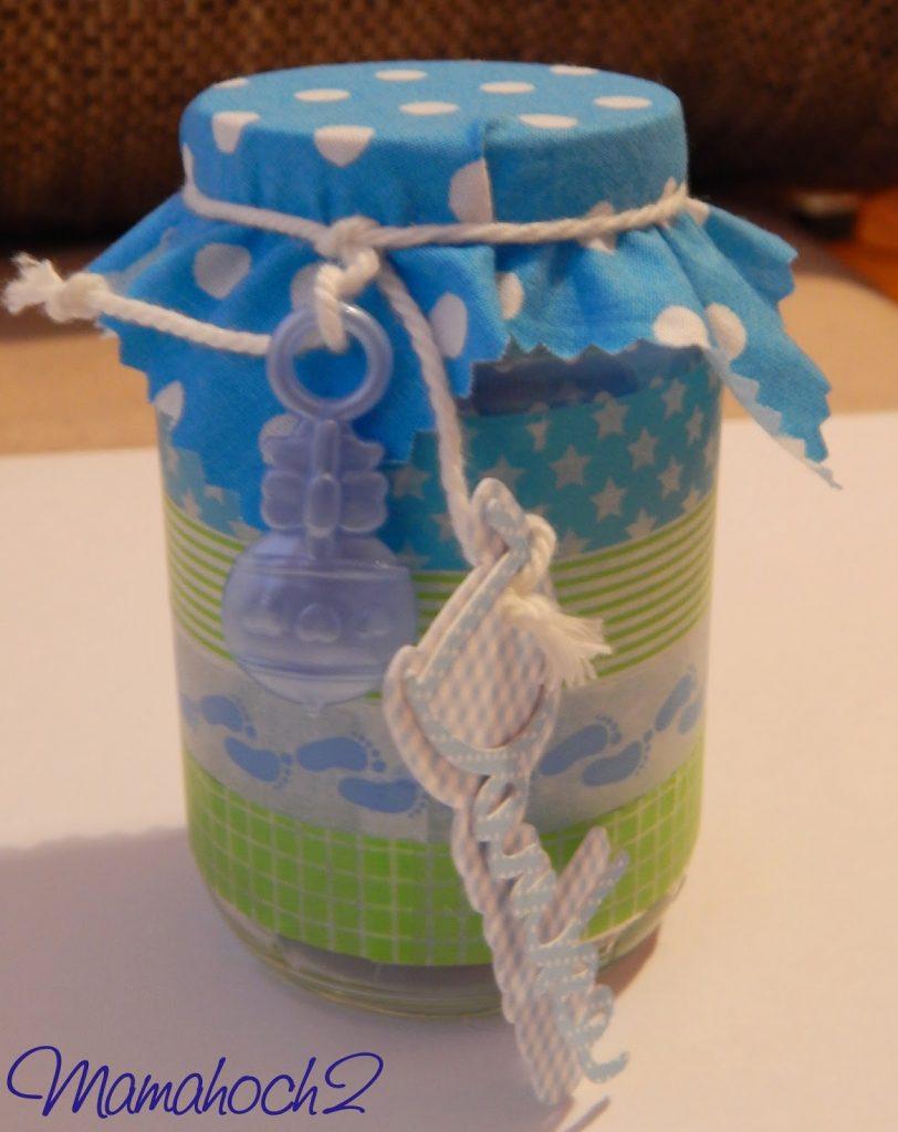 Babydankesgläschen DIY Anleitung Geburtsgeschenk1