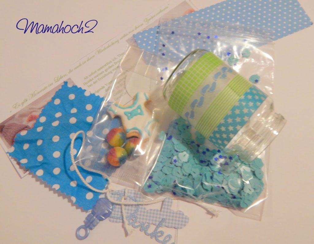 Babydankesgläschen DIY Anleitung Geburtsgeschenk15