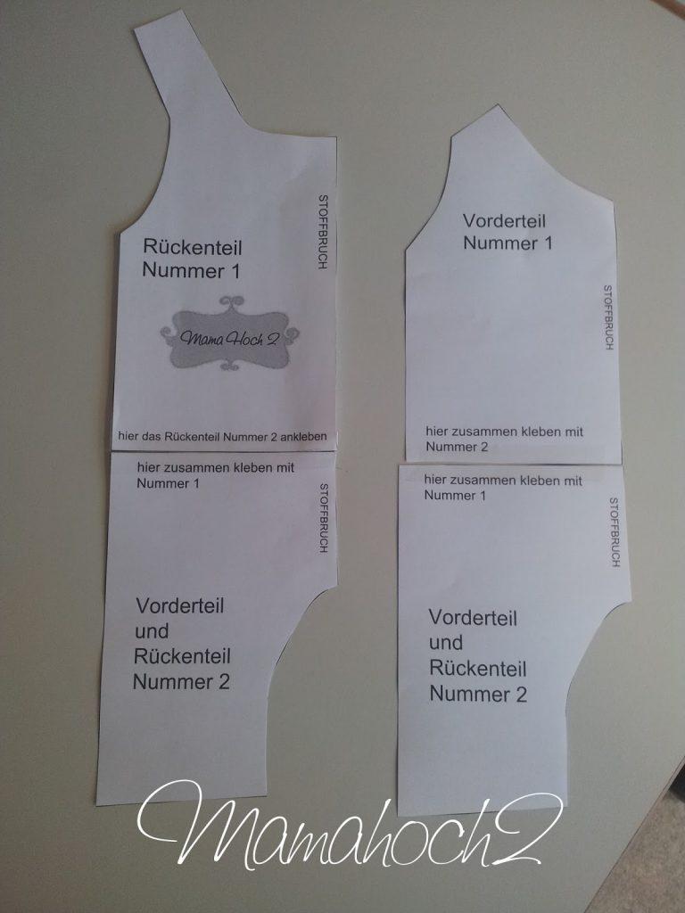 Nähanleitung Puppenstrampler Krümel Freebook1