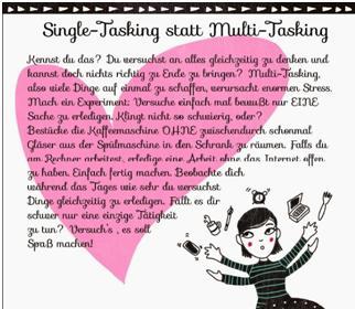 Single -Tasking statt Multi-Tasking Bild Blog