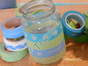 Teaser Babygläschen Dankesgläschen