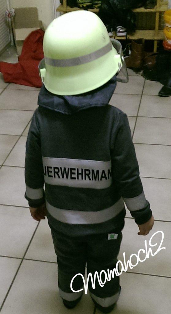 Helau Kostüm Feuerwehrmann Fasching