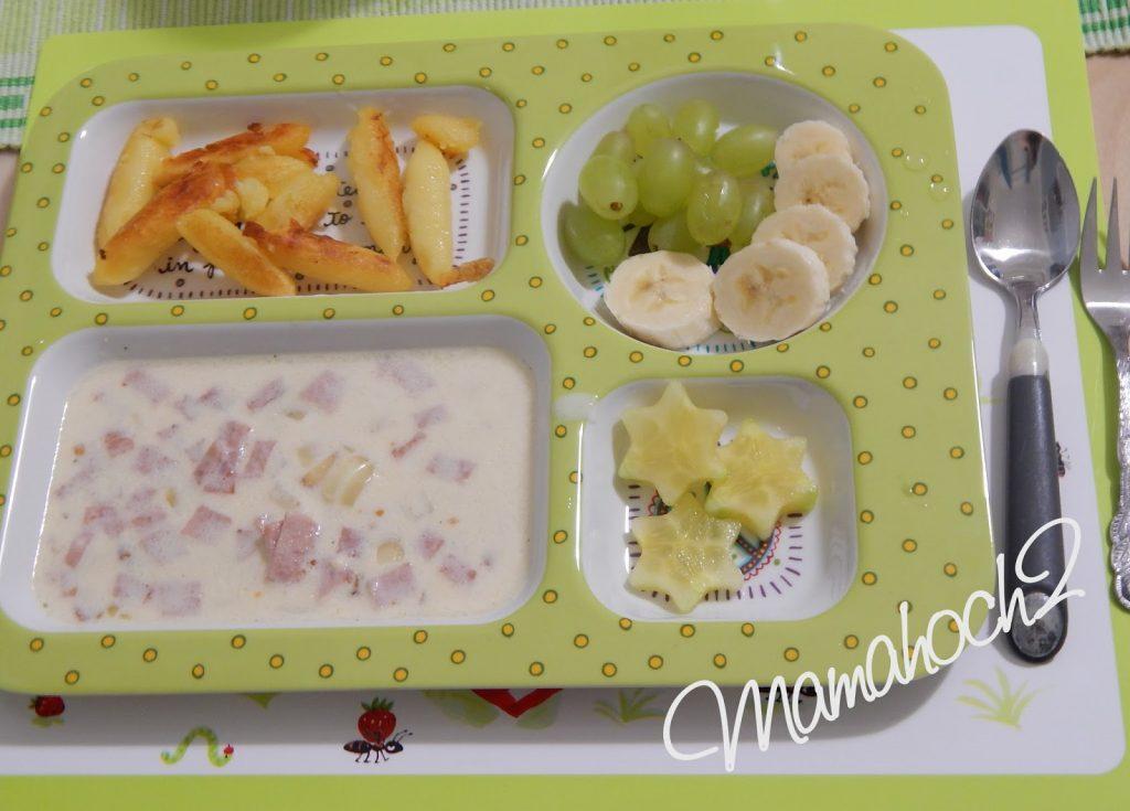 Kindertablett Melamin mit Essen Ausstechformen1
