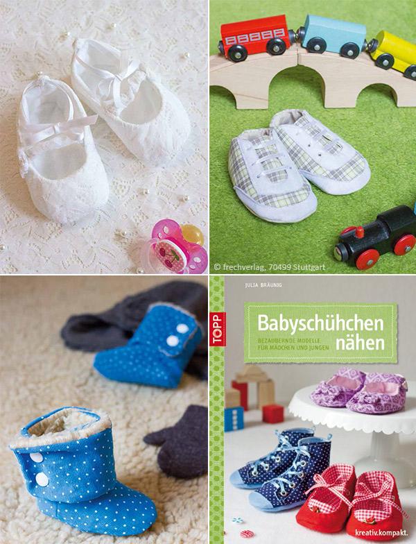 Freebooktratsch Kreativlabor Berlin mit dem Schneiderpüppchen Babyschuhe