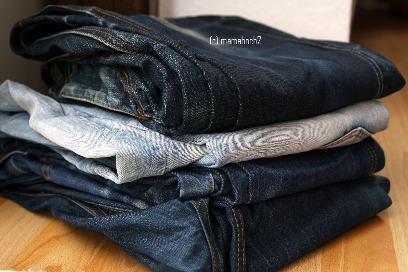 Knickerbocker Rosa Rosa aus alter Jeans upcycling