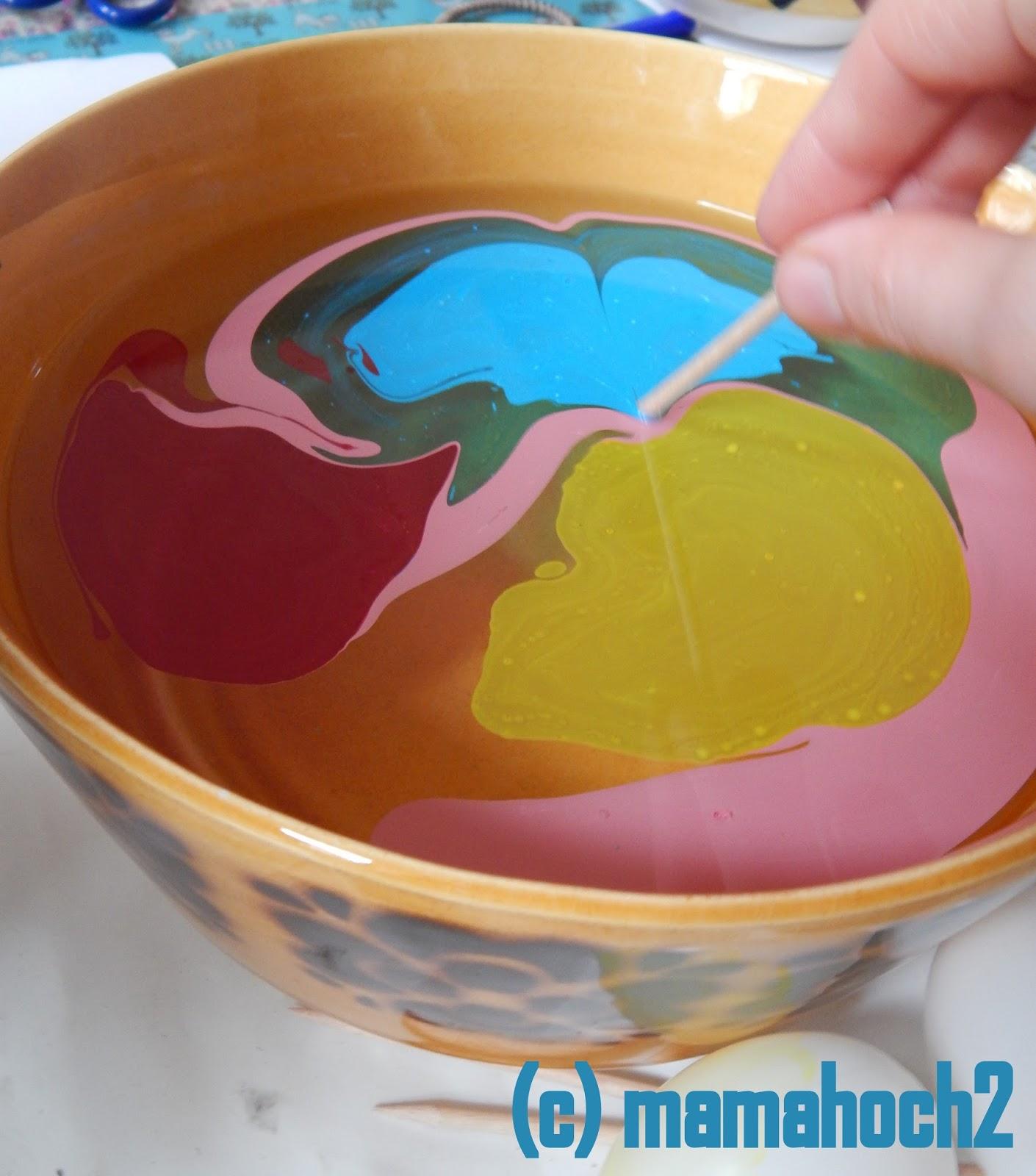 Ostereier marmoriert DIY4