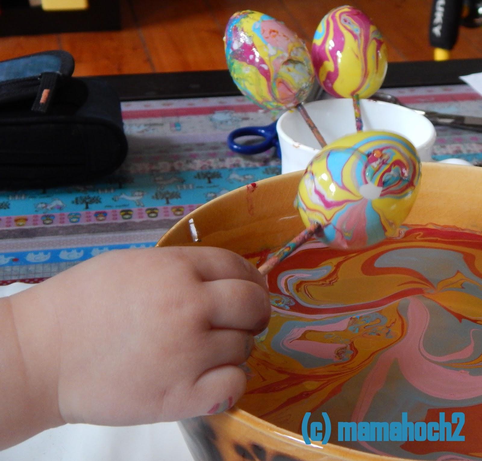 Ostereier marmoriert DIY8