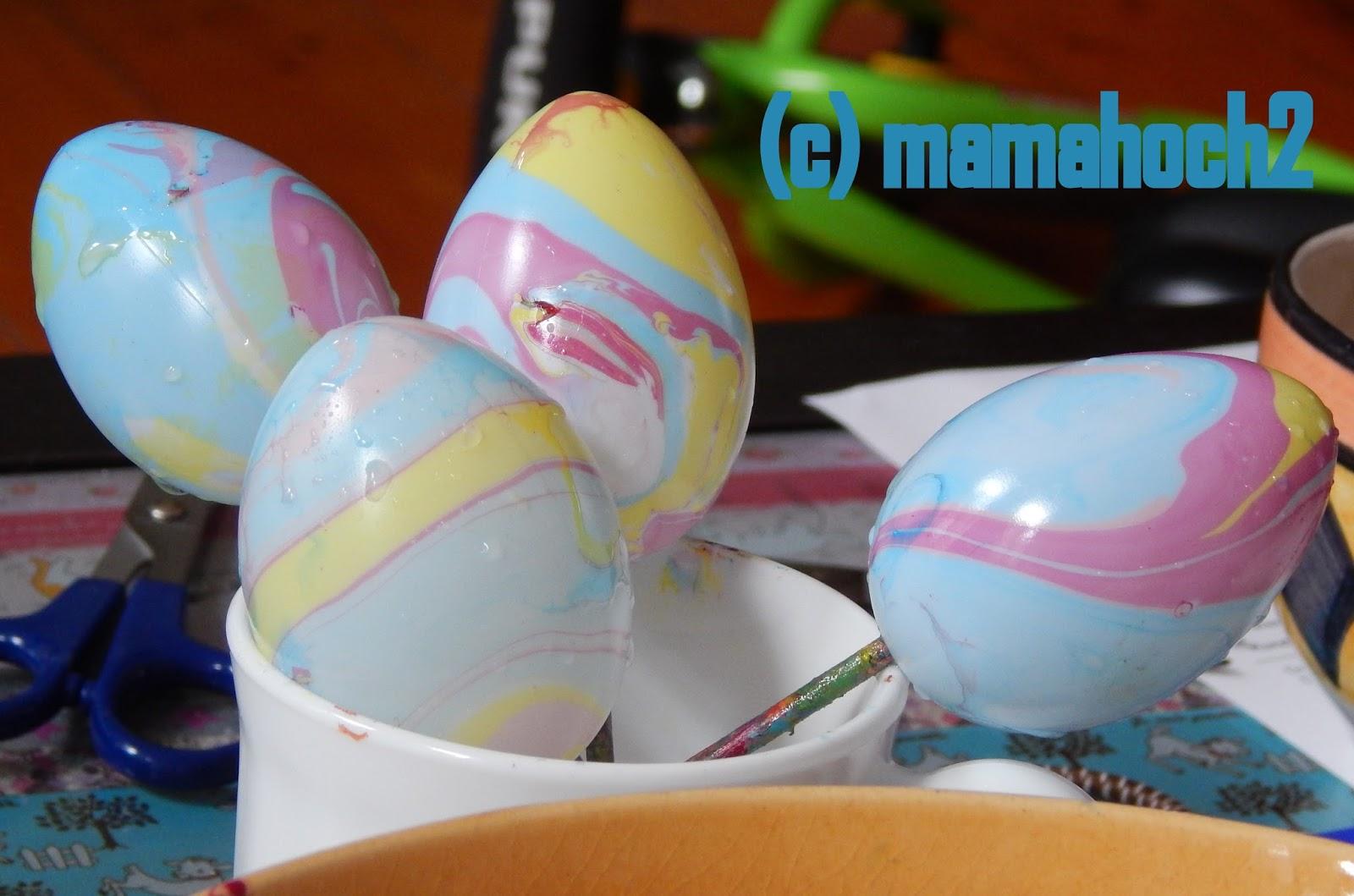 Ostereier marmoriert DIY9