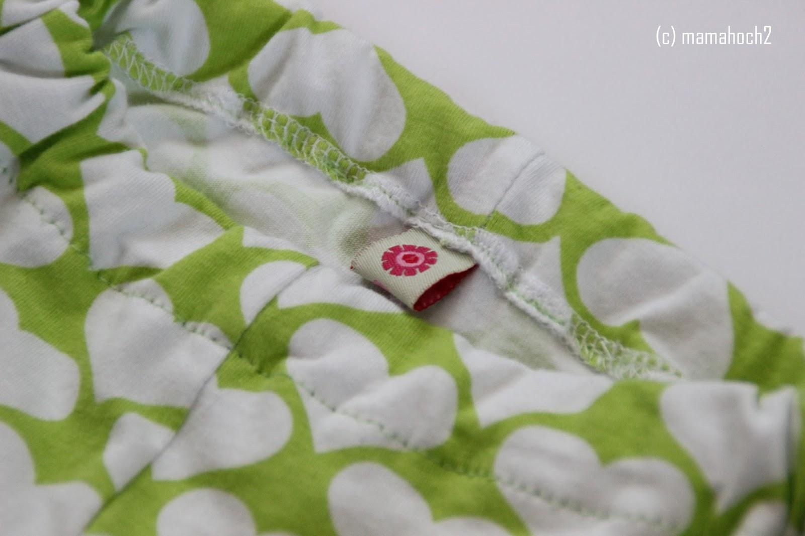 Nähquicktipp – Kleidung mit Webband markieren1