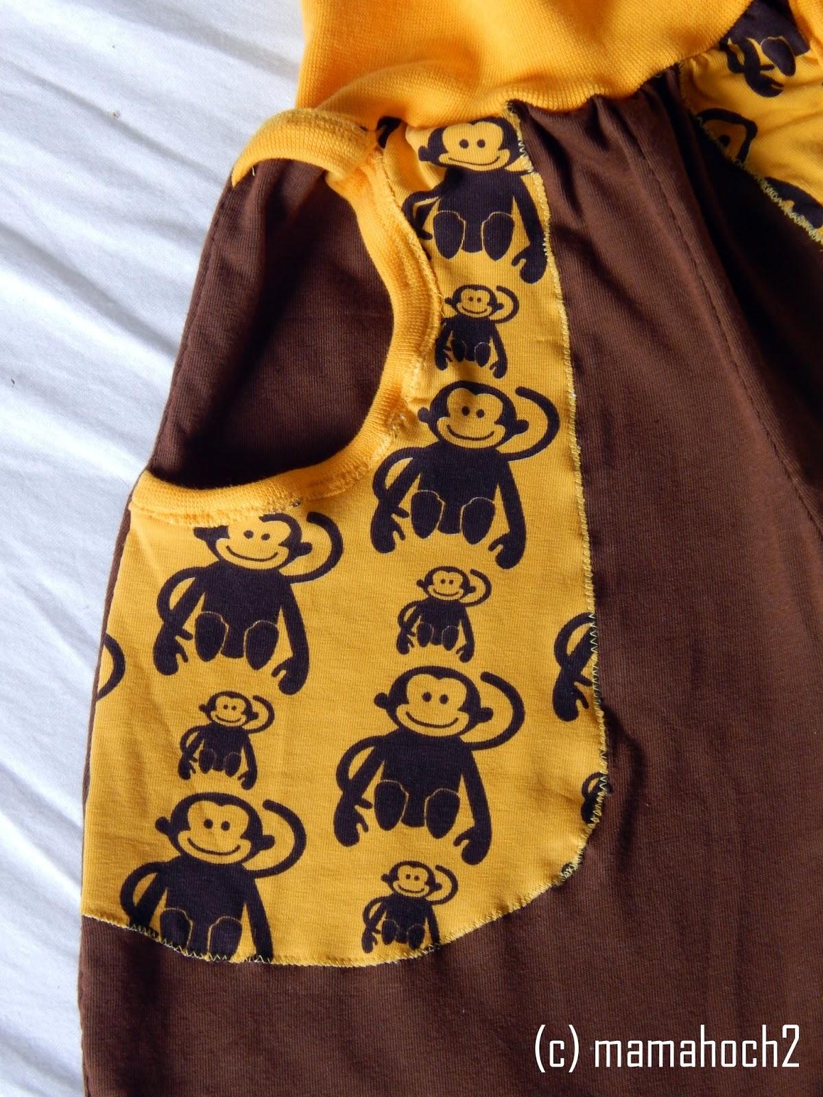 Babyhose taschen