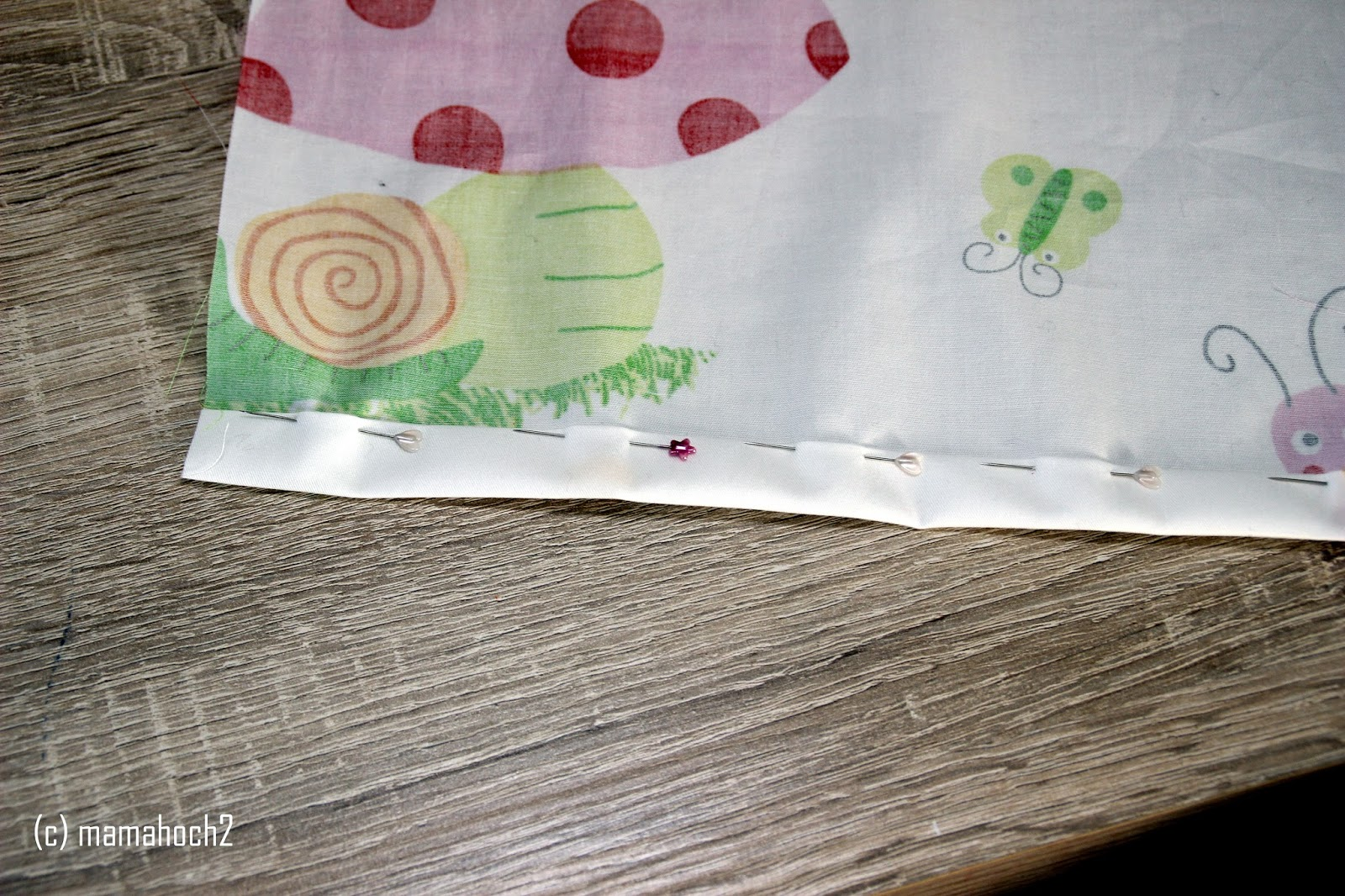 Anleitung Nähtutorial Bettwäsche Puppen3