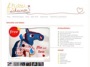 Freebooktratsch Frau Scheiner und ihr Steckenpferd