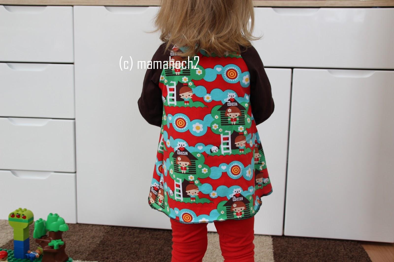 Nähanleitung Raglan Tunika oder A-Form-Kleid11