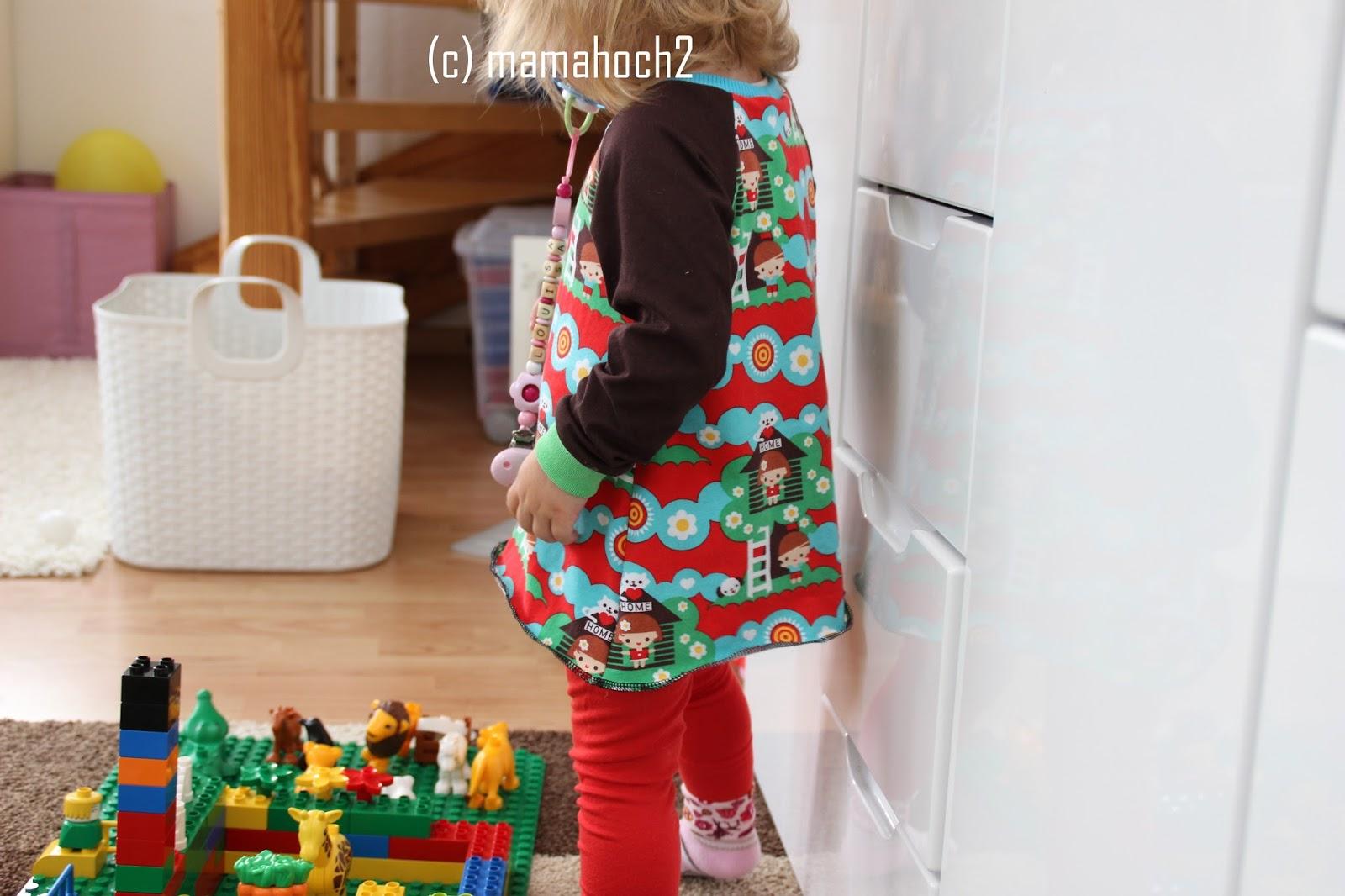 Nähanleitung Raglan Tunika oder A-Form-Kleid12