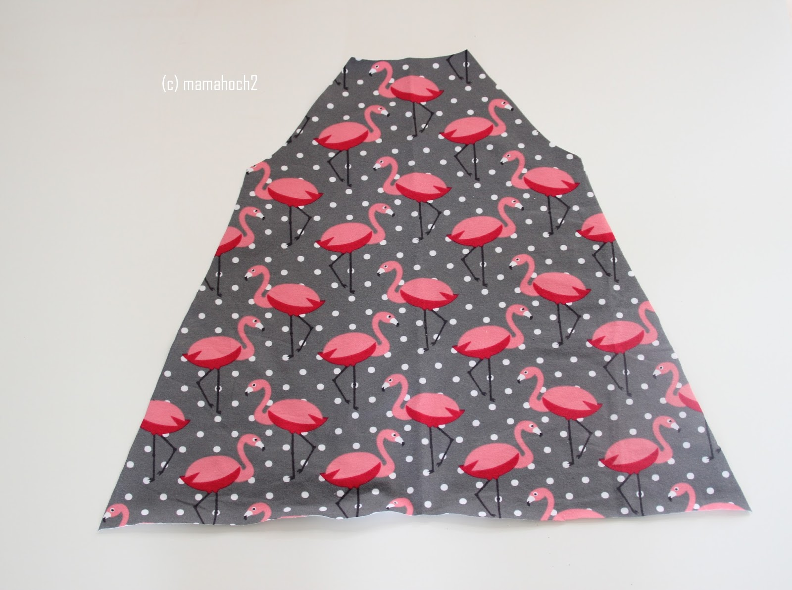 Nähanleitung Raglan Tunika oder A-Form-Kleid4