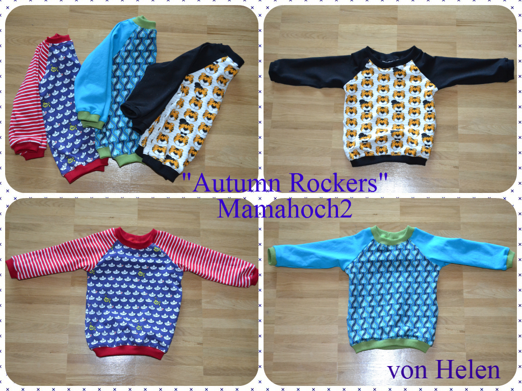 Autumn Rockers Raglan Pullover Nähanleitung Freebook Beispiele5