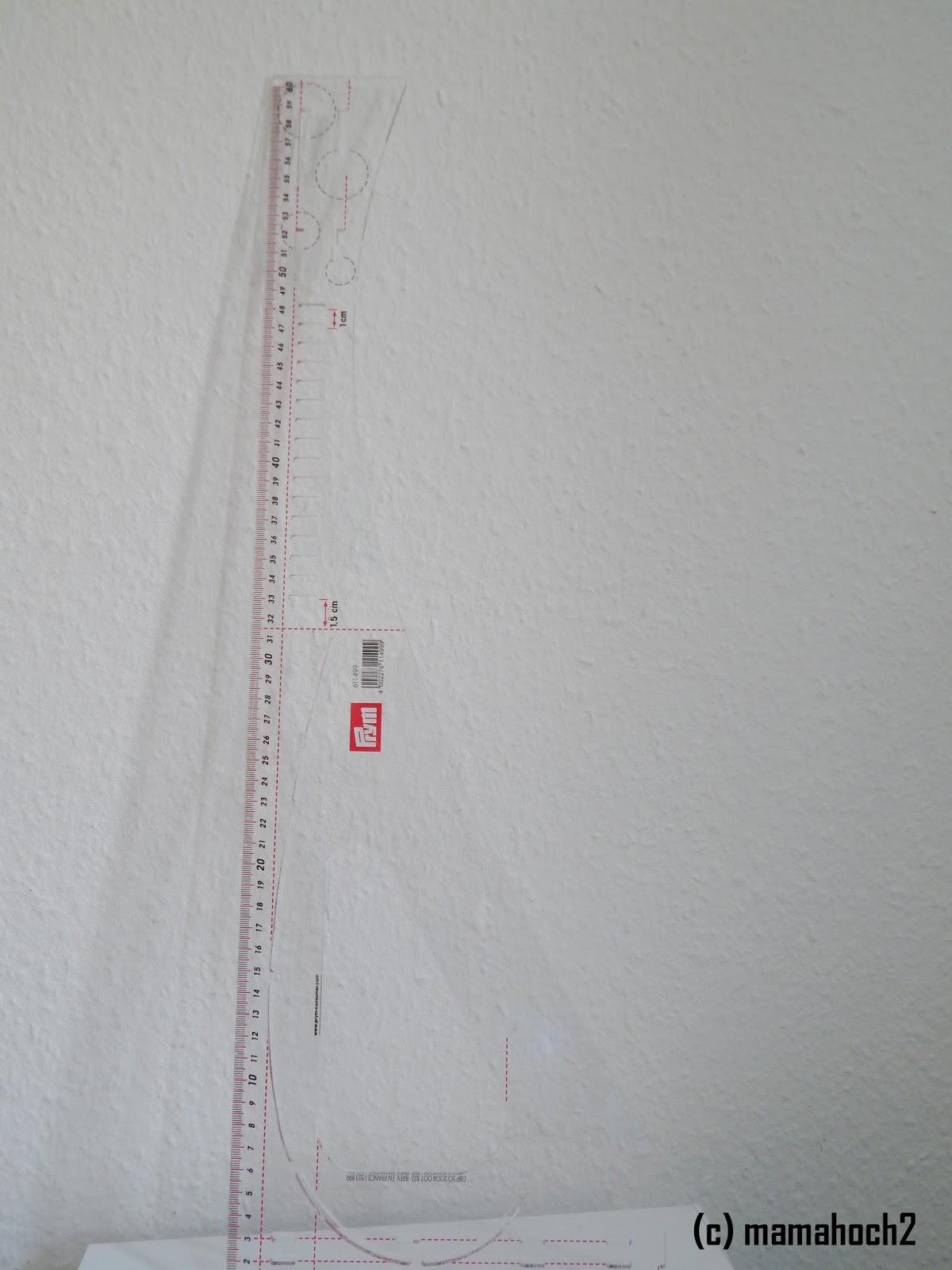 Nähzubehör Foto Schneiderlineal