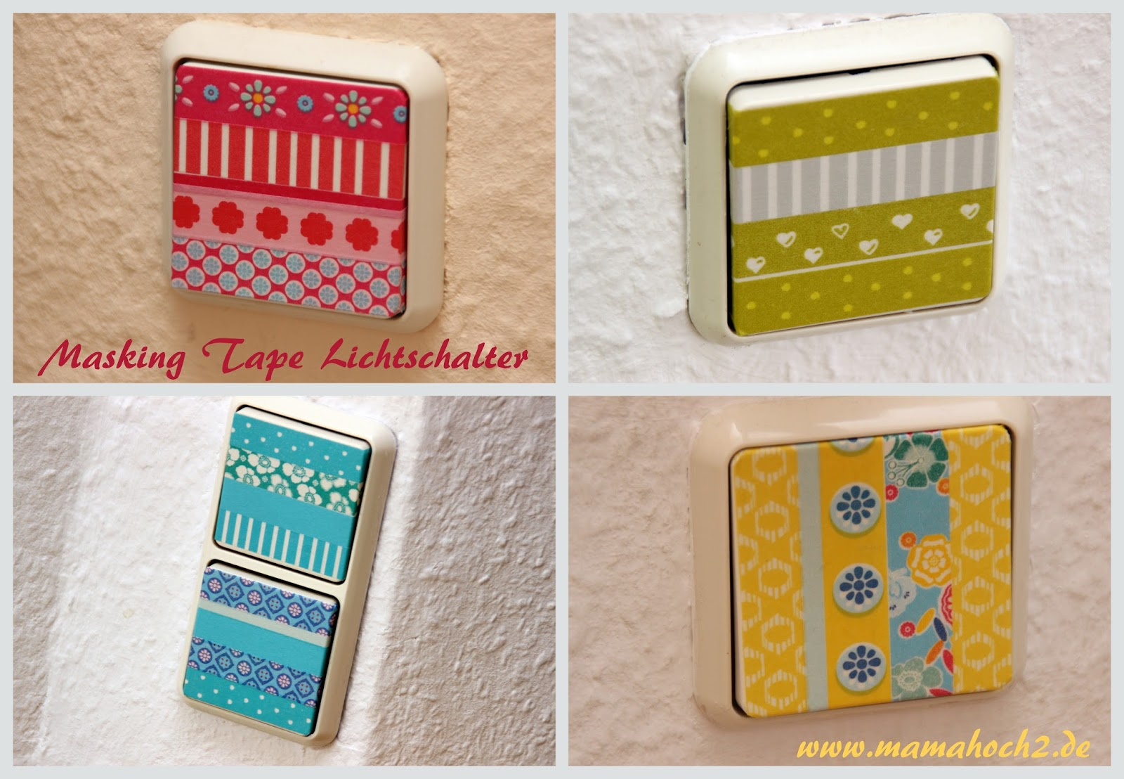 washi masking tape ideen wohnen mamahoch2. Black Bedroom Furniture Sets. Home Design Ideas