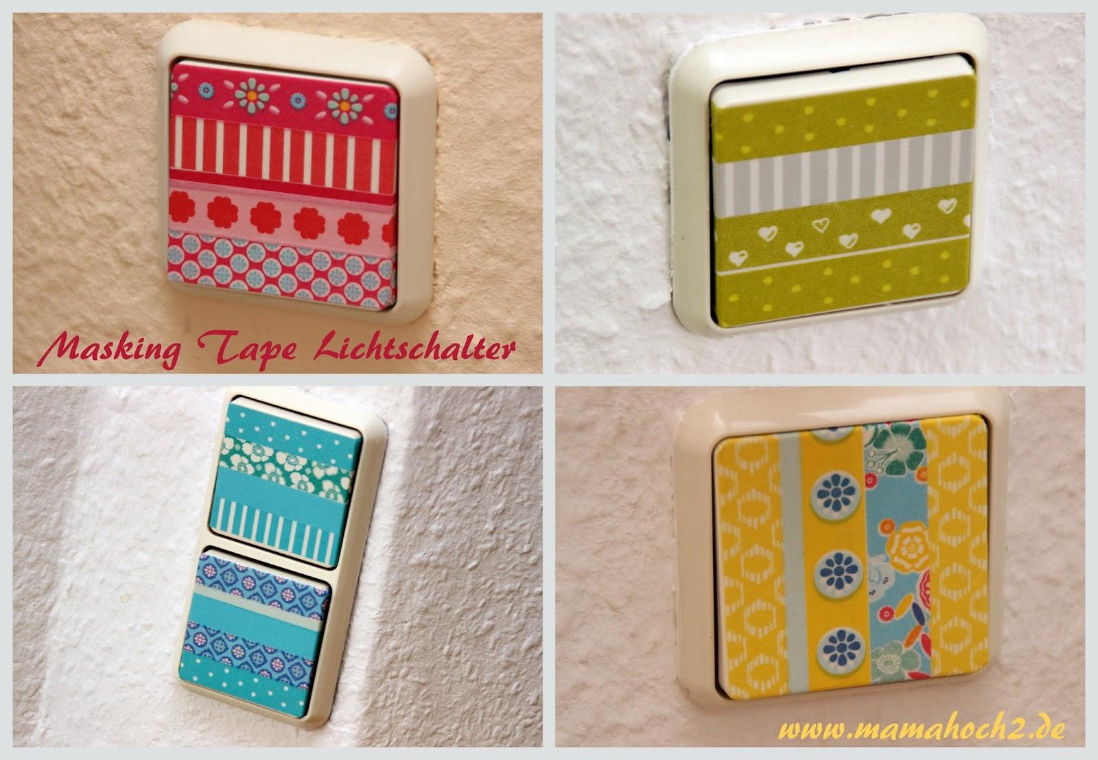 Washi / masking tape ideen: wohnen   mamahoch2