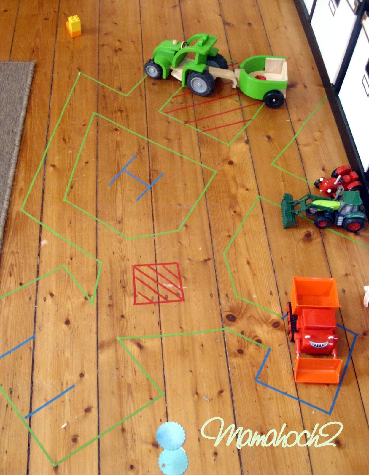 Masking Tape Ideen 5 Kinderzimmer