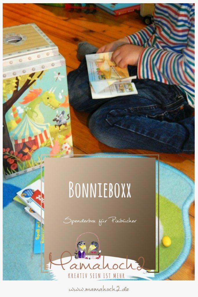 Bonnieboxx Aufbewahrung für Kinderbücher, Pixibücher