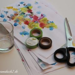 Masking Tape DIY Weihnachtsbaum