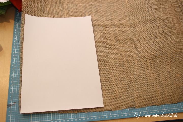 Schnittmuster aus A4 Blatt